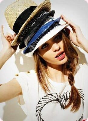 Sombreros para el Verano 2012