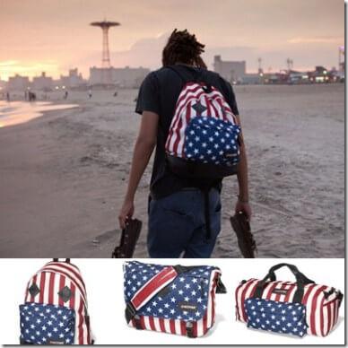 Eastpak celebra el 4 de Julio con su nueva colección de mochilas made in USA