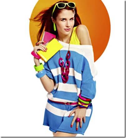 La moda flúor en los bolsos de Verano 2012