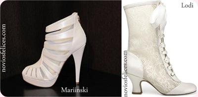Tendencias calzado para novias Otoño-Invierno 2012-2013