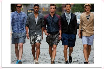 Tendencias hombre, pantalones cortos para el Verano 2012