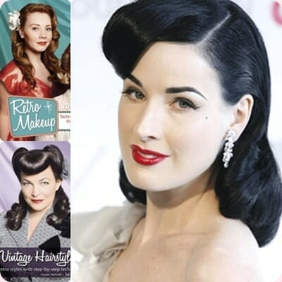 Peinados Pin Up, tendencias 2012