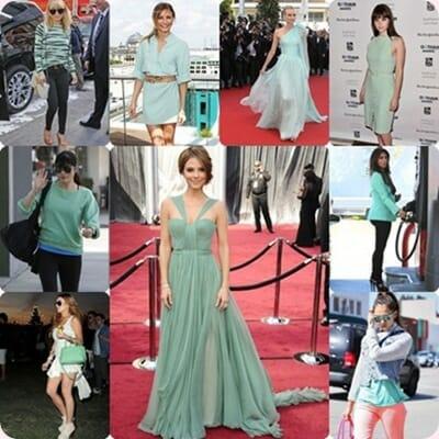 Tendencias moda, el verde mint protagonista de tus looks