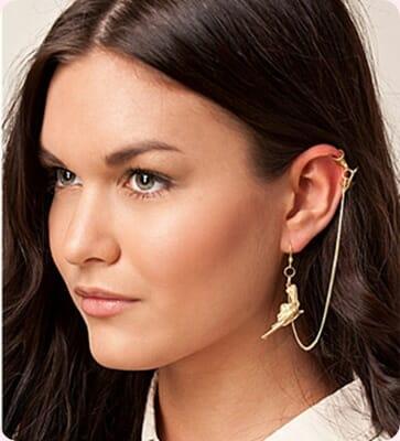Ear Cuff, la última tendencia en pendientes