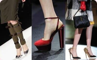 Tendencias en zapatos, Otoño-Invierno 2012-2013