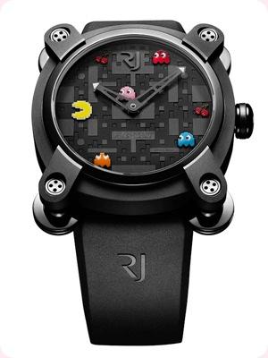 Tendencias accesorios: Pac Man regresa en forma de reloj