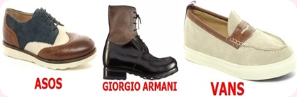 Tendencias calzado para hombre otoño-Invierno 2012-2013