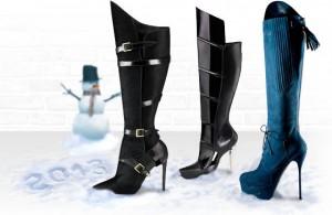 Tendencias botas Otoño-Invierno 2012-2013 1