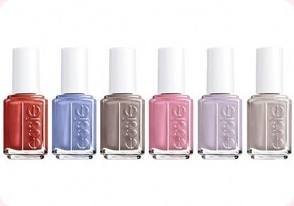 Essie, nueva colección de esmaltes de uñas
