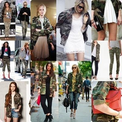 Estampado de camuflaje, nueva tendencia mujer otoño-Invierno 2012-2013