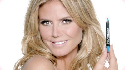 Heidi Klum presenta las novedades de la marca de cosméticos Astor