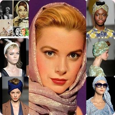 Tendencias peinados Primavera-Verano 2013: Apuesta por los pañuelos!!