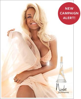 Rihanna posa semi desnuda para promocionar su nuevo perfume
