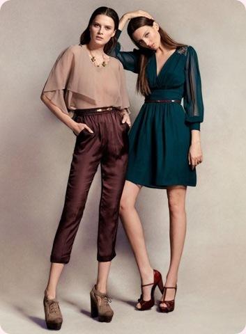 Moda Mujer: Hoss Intropia presenta su nueva colección Otoño-Invierno 2012-2013