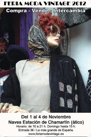 Regresa la peseta a la Feria de la Moda Vintage en Madrid