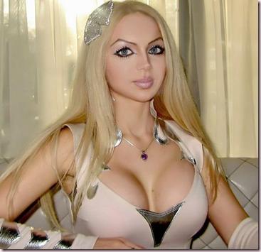 La moda de las Barbies humanas va a más!