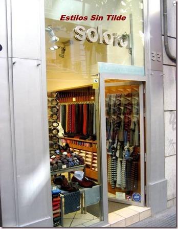 La marca española de moda masculina, SOLOIO, presenta sus propuestas para estas fiestas