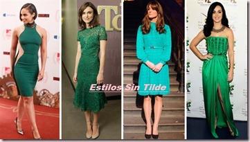 El nuevo color de moda es el Verde Esmeralda