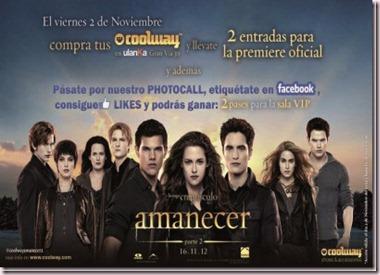 COOLWAY revolucionará a los seguidores de la saga CREPÚSCULO este viernes 2 de noviembre en Madrid