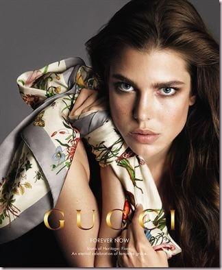 Gucci vuelve a contar con Carlota Casiraghi