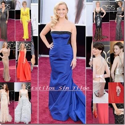 Tendencias en la alfombra roja de los Oscar 2013