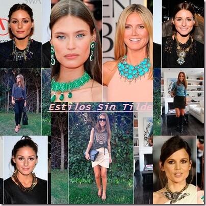 Las celebrities se apasionan de los collares XXL 2