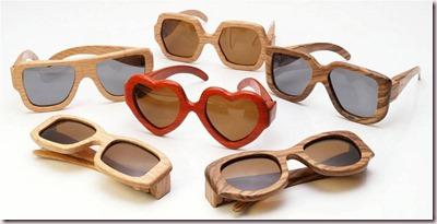 Gafas de madera, lo último en tendencias