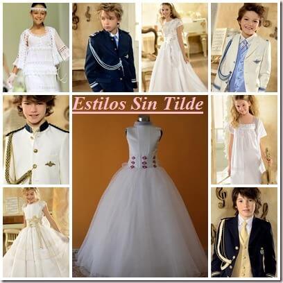 Tendencias en vestidos comunión 2013 1