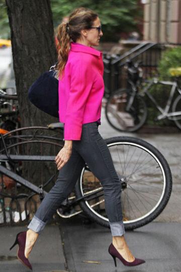 ¿Con qué zapatos combino los jeans? 1