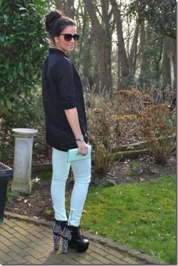 Cómo combinar un pantalón verde  2