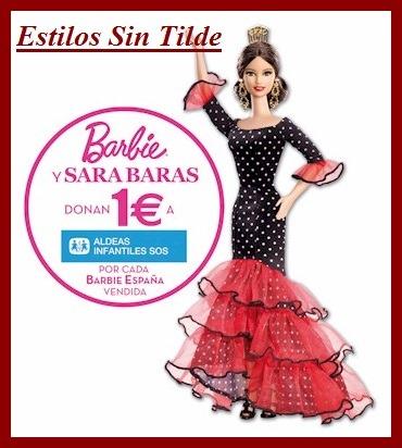 La muñeca Barbie España colabora con Aldeas Infantiles