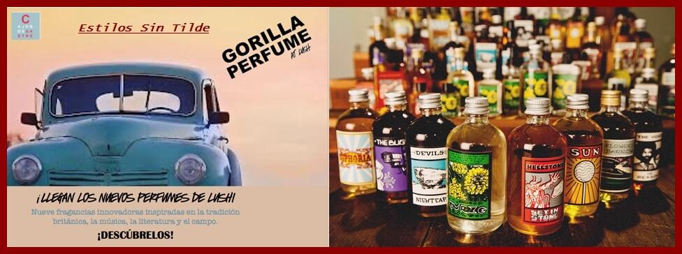 Nueva colección de perfumes de LUSH