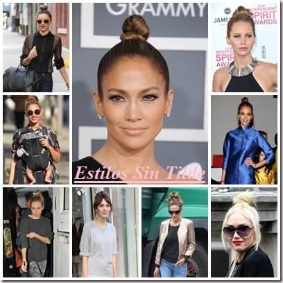 Sock Bun, tendencia peinados mujer Primavera-Verano 2013 1