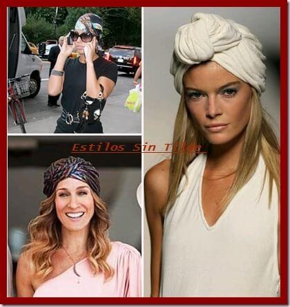 Aprende a cómo lucir un turbante. Hazlo en casa.