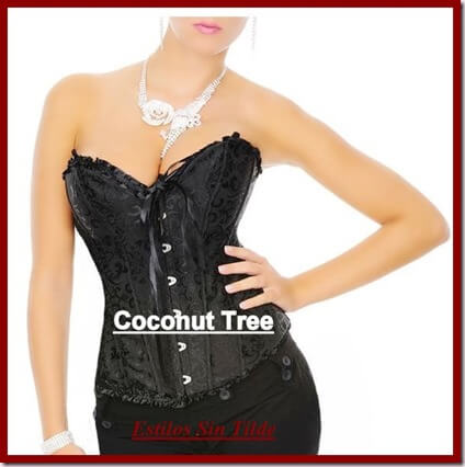 ¿Te gustan los corsés? participa en el sorteo de Coconut Tree