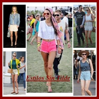 ¿Qué estilos de shorts se llevan este verano 2013?