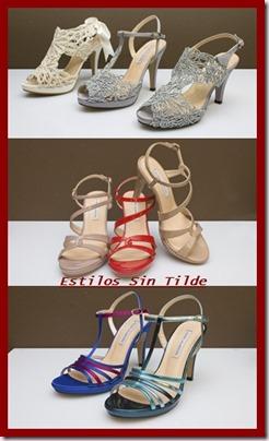Las sandalias se convierten en el calzado de fiesta del Verano 2013