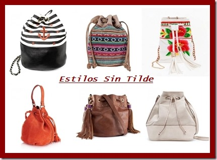 Bolsos saco, nueva tendencia Verano 2013