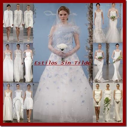 Tendencias vestidos de novia 2014