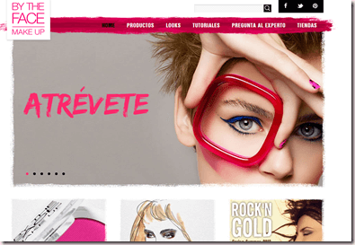By The Face, nueva marca de maquillaje española low cost