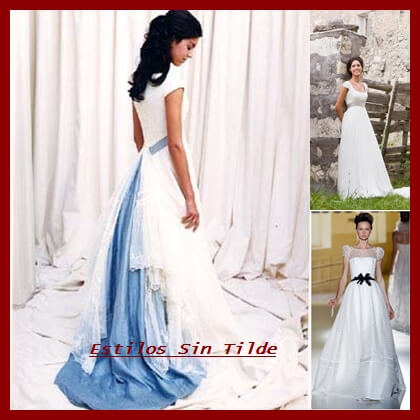 5 tendencias en vestidos de novia que triunfarán en el 2014 1