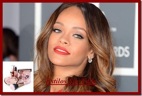 Rihanna presenta su colección de maquillaje para MAC