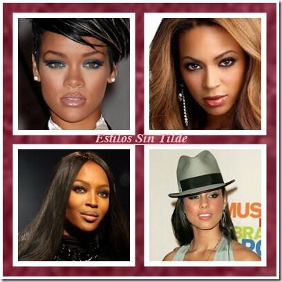 maquillaje para mujeres negras