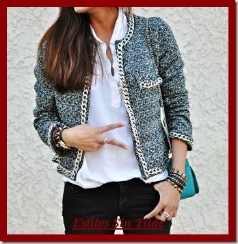La chaqueta tweed tendencia en Otoño-Invierno 2013-2014