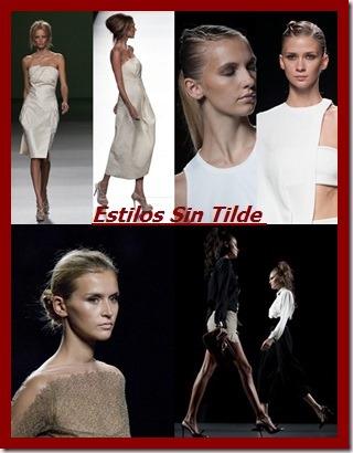 Peinados de la Mercedes Benz Madrid Fashion Week