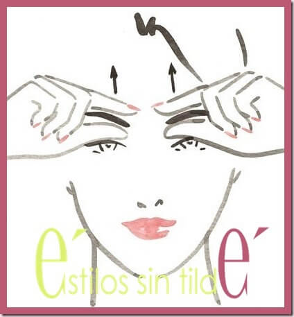 Ejercicios de fitness facial (parte 2)