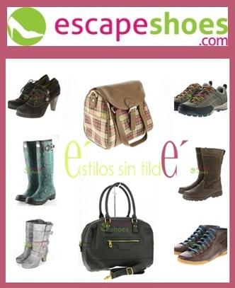 Con EscapeShoes compra tu calzado favorito sin salir de casa