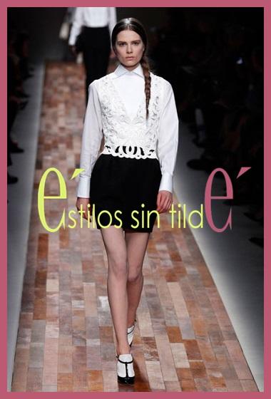 Zapatos blancos y negros, tendencia 2014 1