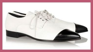 Zapatos blancos y negros, tendencia 2014