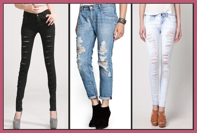 Tendencia Ripped Jeans 2
